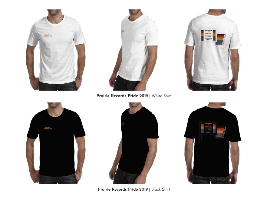 Prairie Records - Pride Tee Shirt