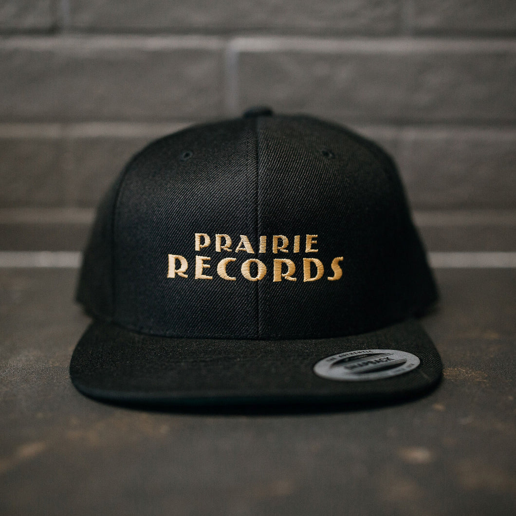 Prairie Records Snap-back Cap