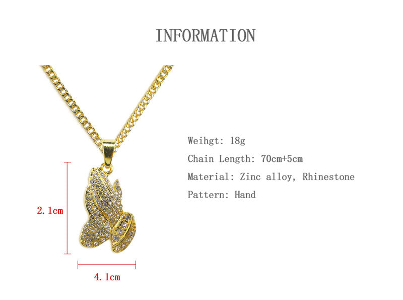 New Gold Long Chain Pendant Necklaces