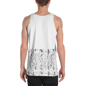 SS1 - White Dedication Tank - Color Block