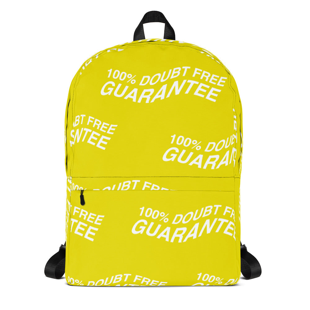100% DOUBT FREE GUARANTEE (YELLOW)