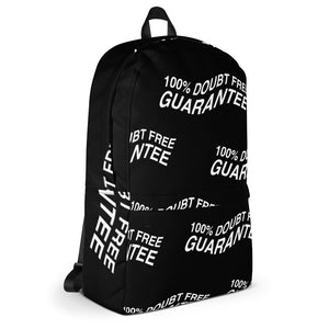 100% DOUBT FREE GUARANTEE - Black & White Backpack
