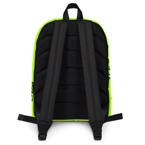 100% DOUBT FREE GUARANTEE Backpack - [RADIOACTIVATE - Neon]