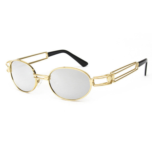 Colorful Vintage Gold Frame Sunglasses