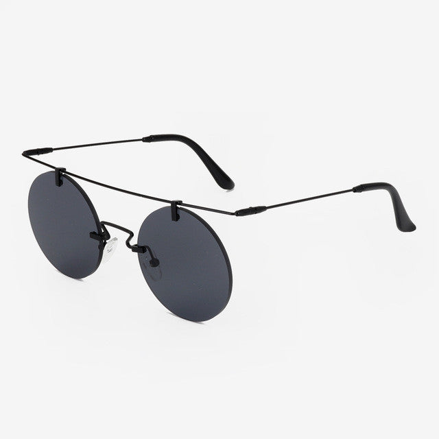 Rounded Vintage Women's Summer Sunglasses