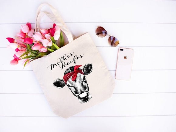 Mother heifer tote