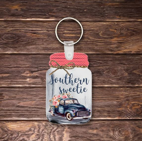 Southern sweetie key chain