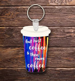 Coffee & more Coffee Key chain