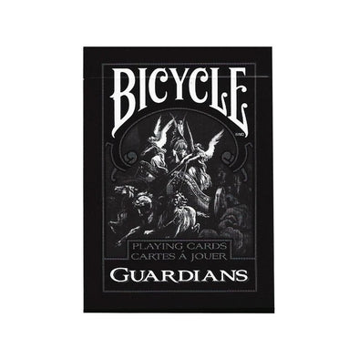 NAIPE BICYCLE DE COLECCIÓN GUARDIANS BLACK