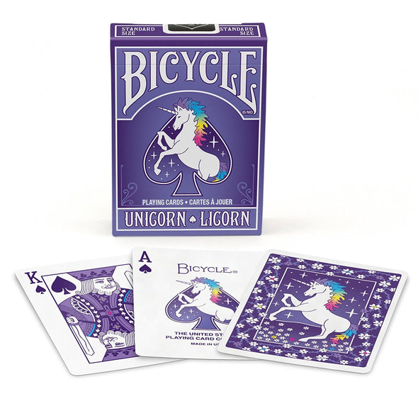 NAIPE BICYCLE UNICORN BARAJA COLECCIÓN
