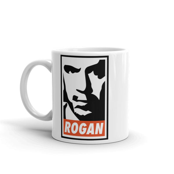 Joe Rogan White Coffee Mug