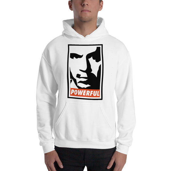 "Joe Rogan ""Powerful"" White Sweatshirt"