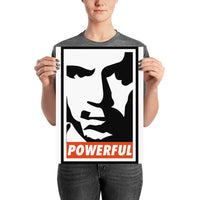 "Joe Rogan ""Powerful"" Art Poster"