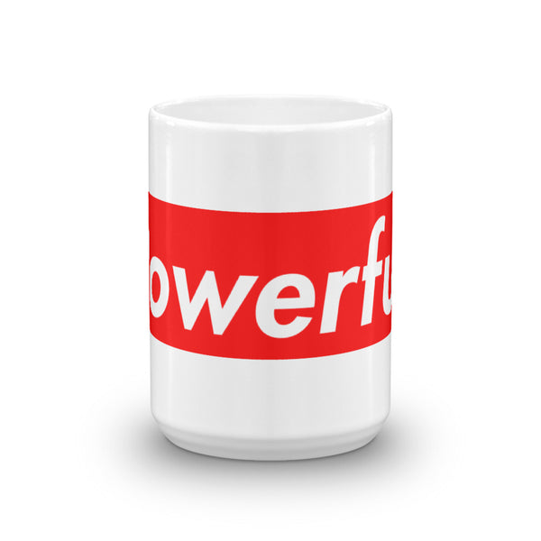 Joe Rogan Powerful Coffee Cup