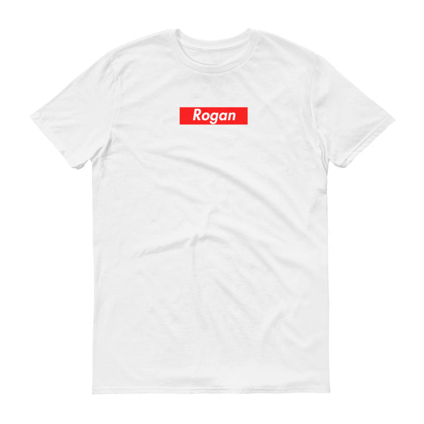 Joe Rogan Box Logo White T-Shirt