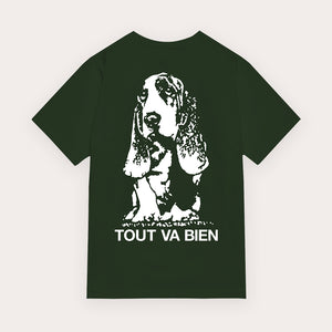 Doris T-Shirt - Forest Green