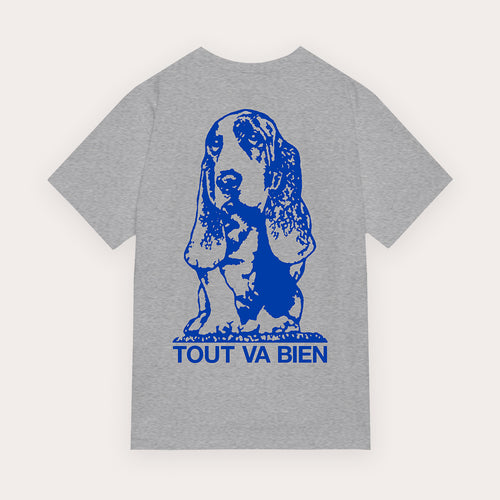 Doris T-Shirt - Heather Grey