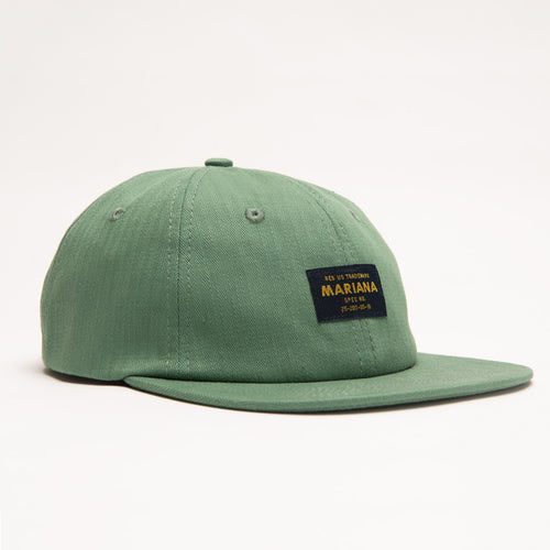 Standard Issue 6 Panel Cap - Green