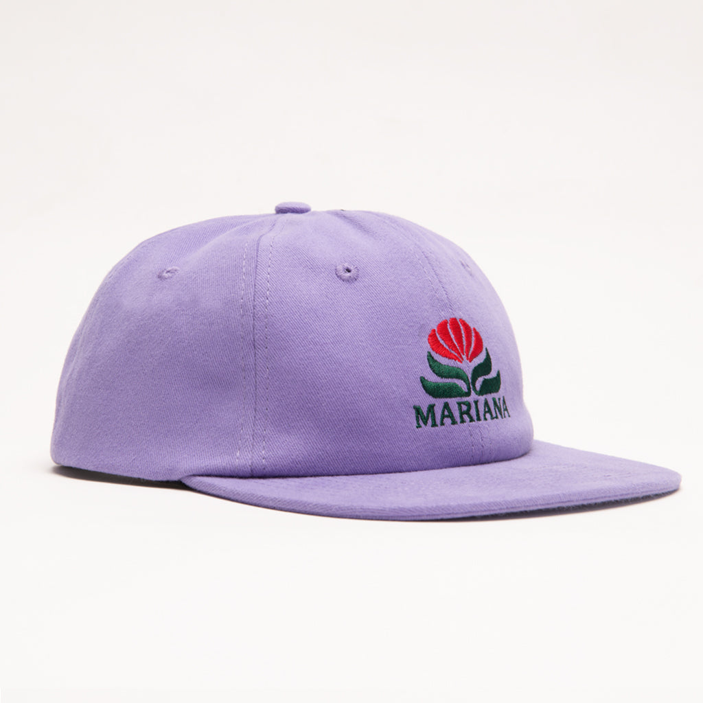 Easy Does It 6 Panel Cap - Lavender