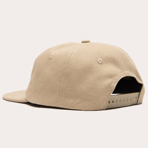 Easy Does It 6 Panel Cap - Tan