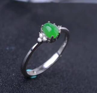 Flawless Jadeite Ring