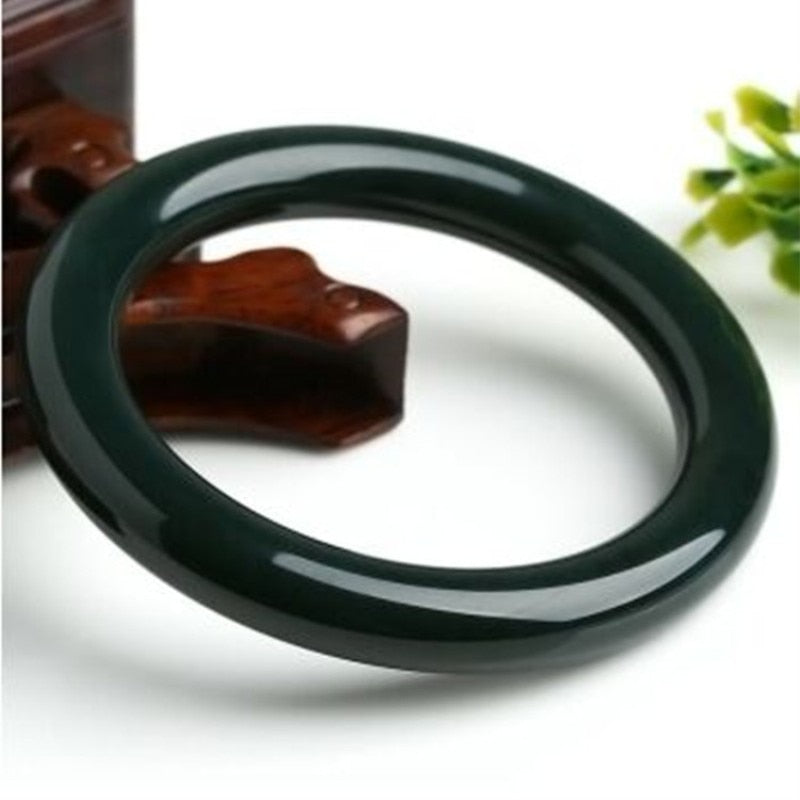 Natural Jade Bangle