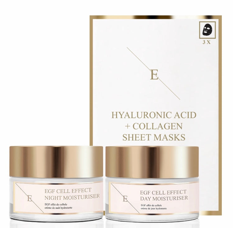 3pc Ultimate Day & Night Youth Regime with Sheet Mask Set