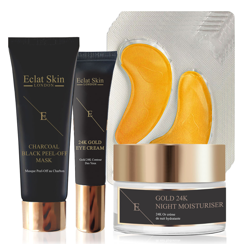 4pc Anti-Ageing 24K Gold Total Starter Set