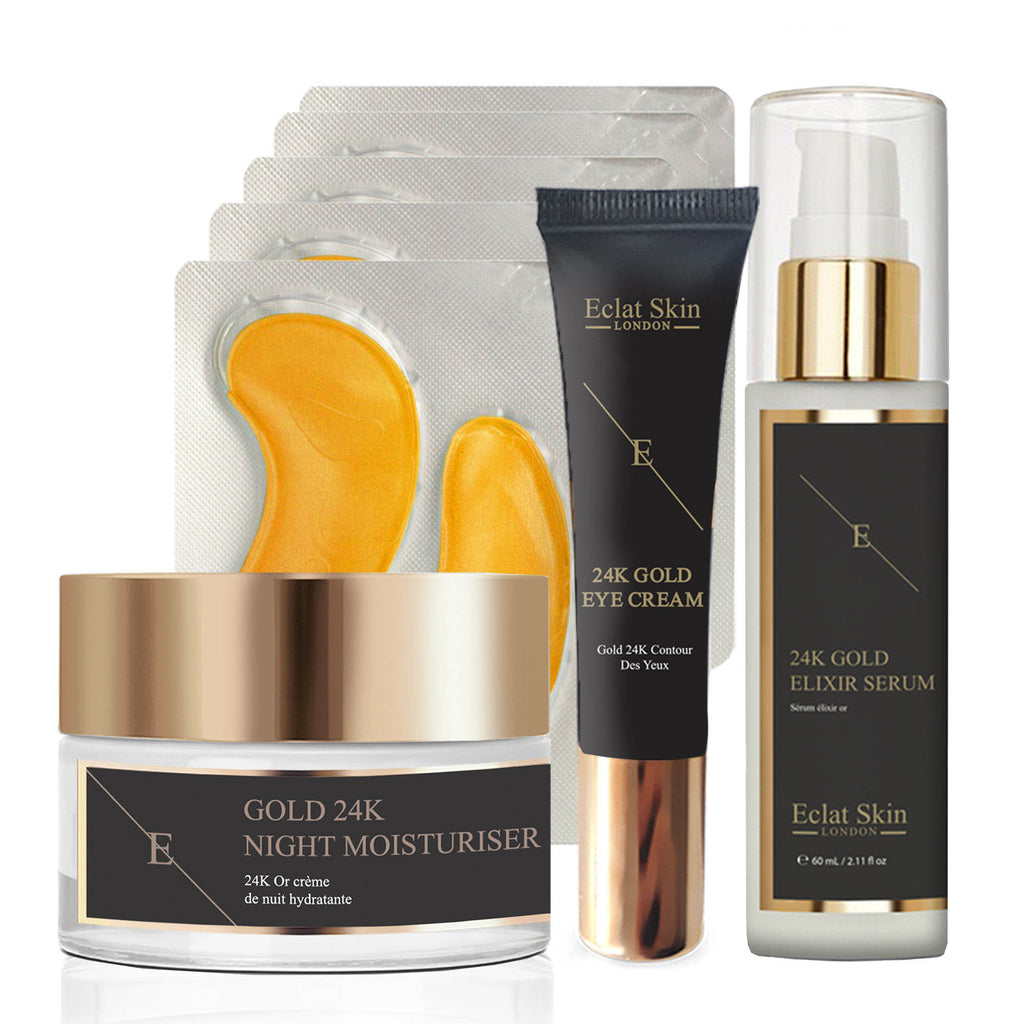 4pc Ultimate Age Defying 24K Gold Starter Set