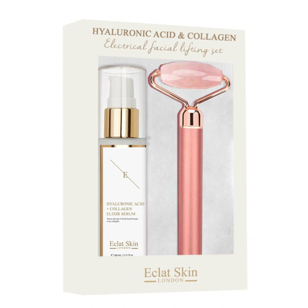 Hyaluronic Acid & Collagen Electrical Facial Lifting Set