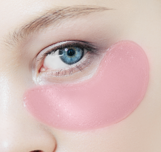 Rose Blossom Glow Hydro-Gel Eye Pads 5 x 2