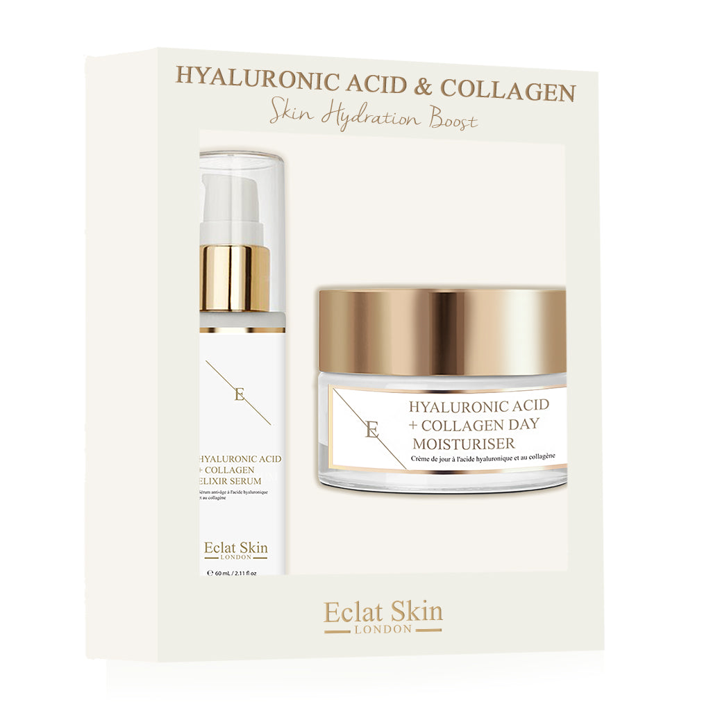 Hyaluronic Acid & Collagen | Skin Hydration Boost Giftset