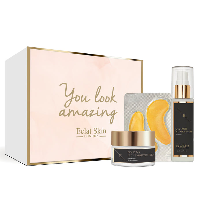 Giftbox Set - 24K Gold Anti-Wrinkle Retinol Skincare Set
