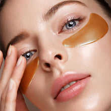 Load image into Gallery viewer, 24K Gold Purifying Peel Off Mask + 24K collagen under eye patches