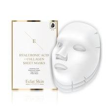 Load image into Gallery viewer, Hyaluronic Acid & Collagen Sheet Masks