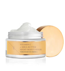 VITAMIN C + SHEA BUTTER NIGHT MOISTURISER 50ML