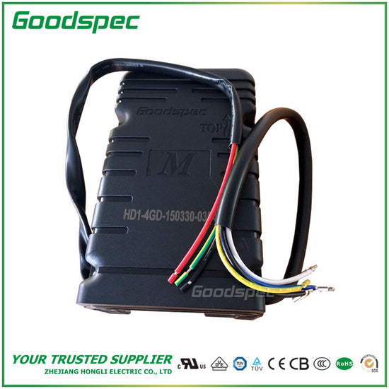 STARTING CONTROL BOX FOR SINGLE-PHASE MOTOR HD1-4GD-150330-035450