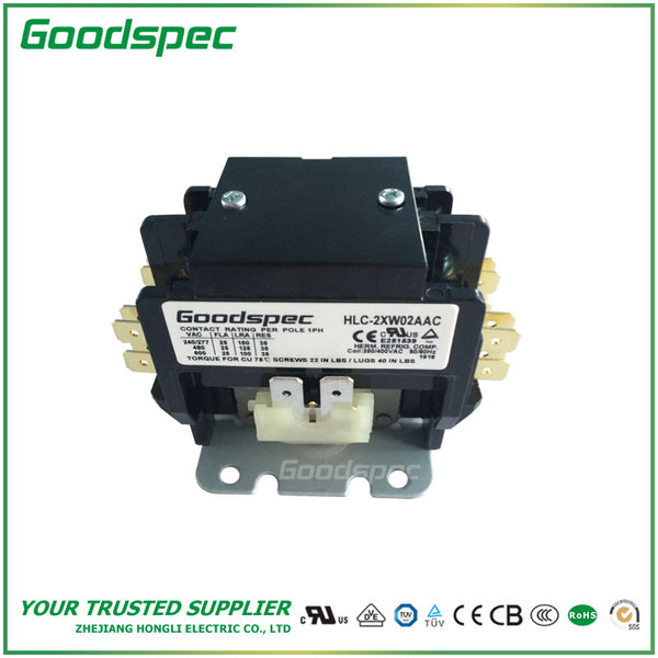 HLC-2XW02AAC (2POLES/30A/380-400VAC) DEFINITE PURPOSE CONTACTOR