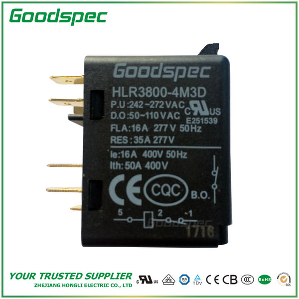 HLR3800-4M3D POTENTIAL TYPE MOTOR STARTING RELAY