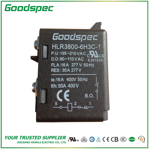 HLR3800-6H3C-1 POTENTIAL TYPE MOTOR STARTING RELAY