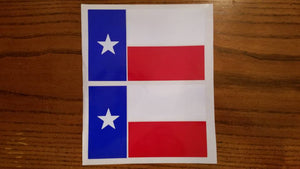 Texas Flag Decal Sets!