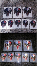 Load image into Gallery viewer, American Flag punisher skull decal!