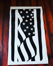 Load image into Gallery viewer, Jeep American Flag Hood Decal
