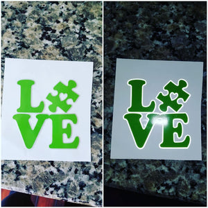Love Autism Decal!