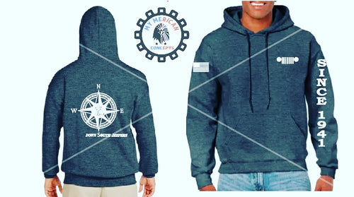 Down South Jeepers Unisex Hoodie!