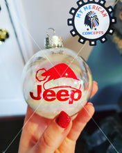 Load image into Gallery viewer, Jeep Edition Ornaments- 8- Pack!