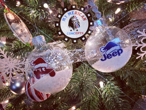 Jeep Edition Ornaments- 8- Pack!