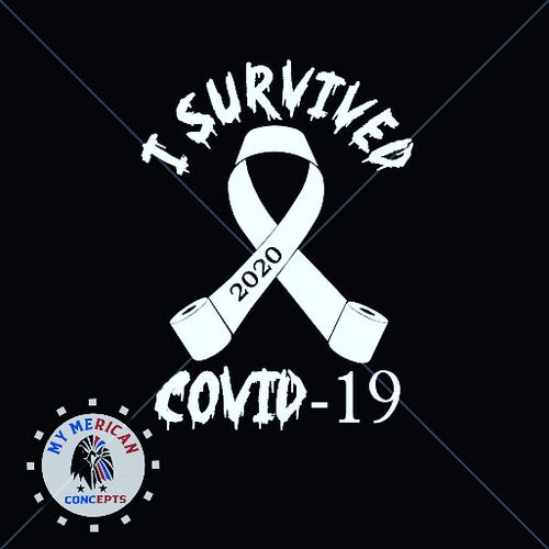 I Survived Covid-19 Decal-TP Edition