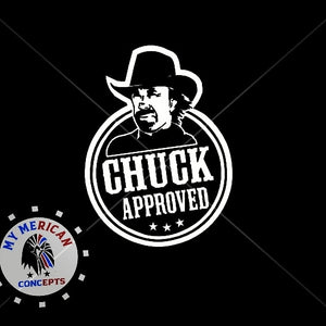 Chuck Norris Approved- Decal!