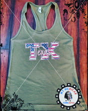 Load image into Gallery viewer, Texas Camo Tank!!!